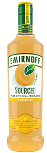 Smirnoff Sourced Vodka Pineapple 750ml